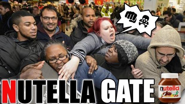 Le NutellaGate provoque la risée des internautes !