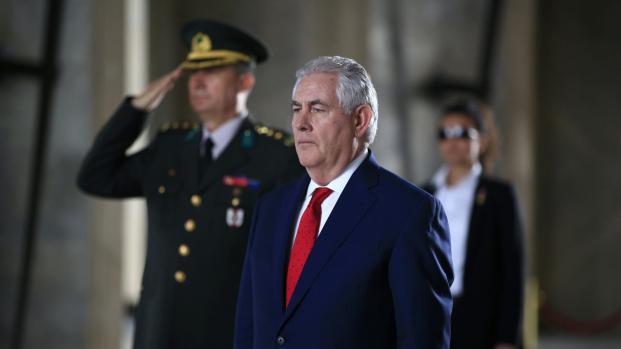 video:Tillerson de frente contra Maduro