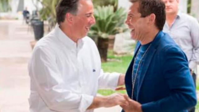 Julio César Chávez se encuentra con Meade