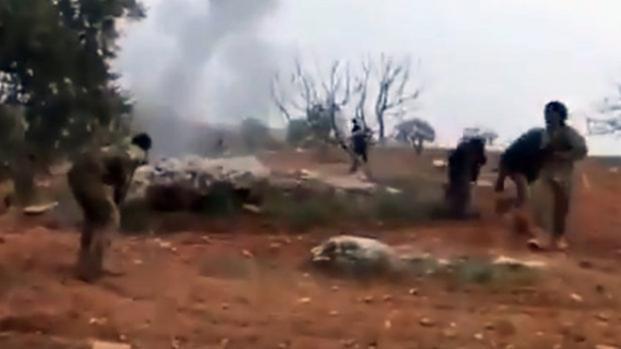 Vídeo: Piloto russo se explode com granada para não ser pego por Estado Islâmico