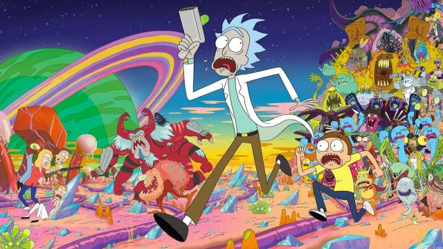Crossover 'Rick and Morty' y 'SpongeBob Squarepants'