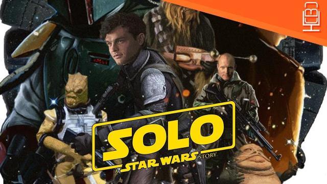 'Solo: Un trailer de Star Wars Story' se desliza