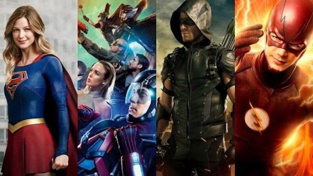 Hay demasiado programas de TV de comic's de DC
