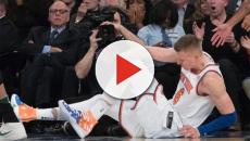 New York Knicks' Kristaps Porzingis suffers torn ACL in left knee