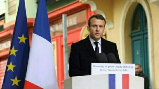 Hommage à Claude Érignac : Le message fort d'Emmanuel Macron