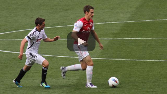 Arsenal tiene negociaciones difíciles con Aaron Ramsey