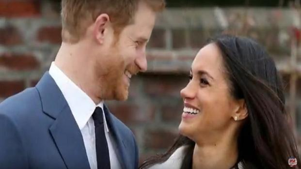 Who will act as Harry & Meghan in 'A Royal Romance' movie?