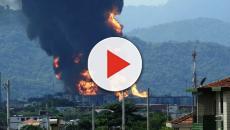 Vídeo: Casa onde vivem 31 venezuelanos é explodida por homem em Rondônia