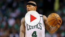 Isaiah Thomas thanks the Cleveland Cavaliers after being traded