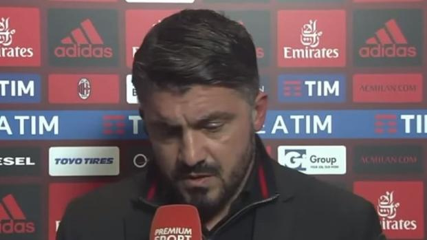 Video: Spal-Milan, tegola per Gattuso