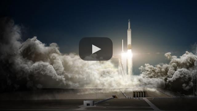El Tesla Roadster desde el espacio