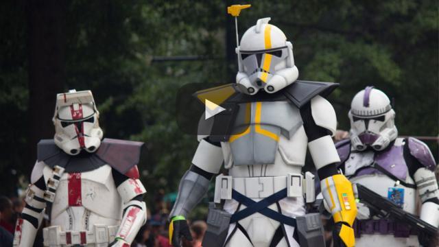 En el túnel del recuerdo con, Star Wars: La Guerra de los Clones