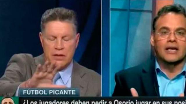 Ricardo Peláez explota e insulta a David Faitelson en vivo