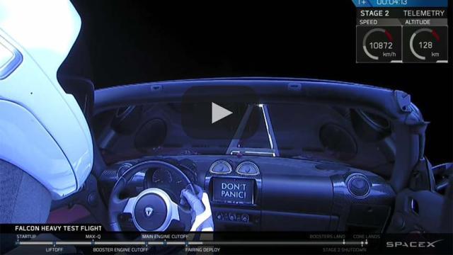El enorme cohete Falcon Heavy de Elon Musk está listo para su lanzamiento