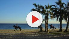 A beach vacation in La Cala de Mijas, Spain