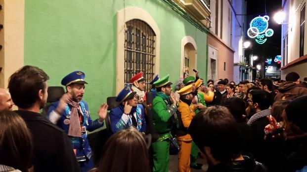 Gran recibimiento al Carnaval callejero 2018