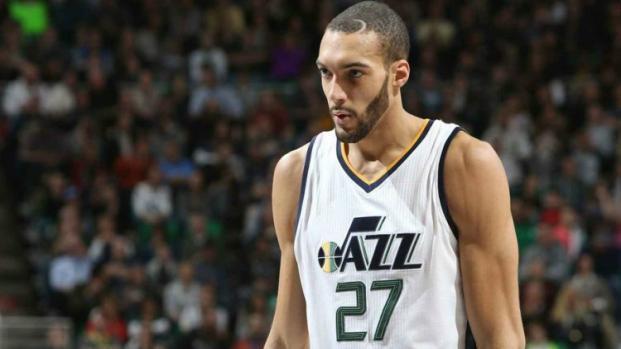 Basket-NBA : Rudy Gobert a été le Français le plus en forme cette nuit