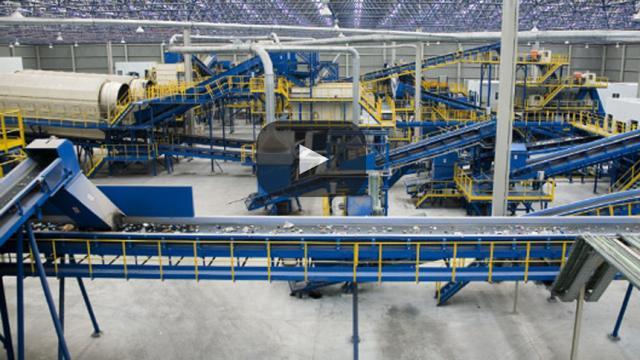 Nuevas tecnologías en planta de residuos en el Reino Unido