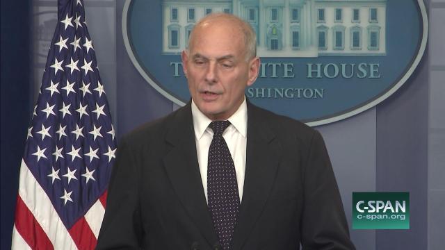 John F. Kelly ofrece explicaciones sobre la salida de Porter de la Casa Blanca
