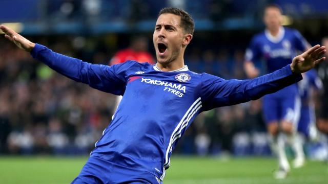 Eden Hazard abierto para mudarse al Real Madrid, sigue contento en Chelsea