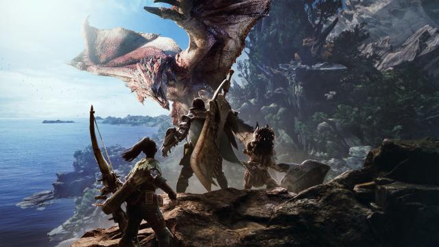 Nueva actualización mundial de Monster Hunter
