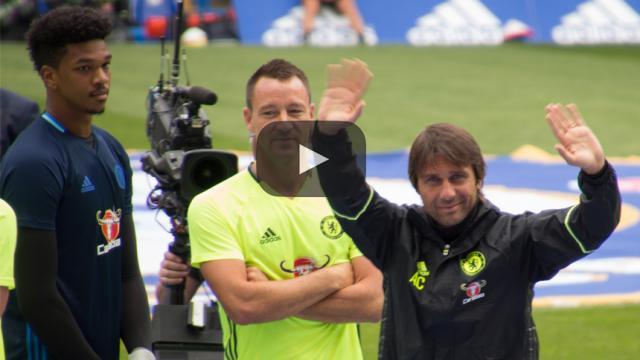 Antonio Conte reanuda los entrenamientos con el Chelsea