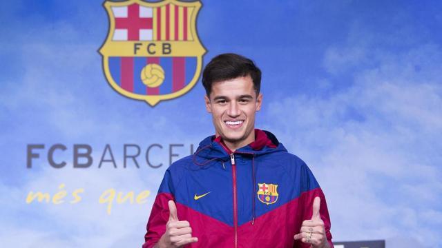 Coutinho ayuda al Barcelona a alcanzar 5ta final consecutiva de la Copa del Rey