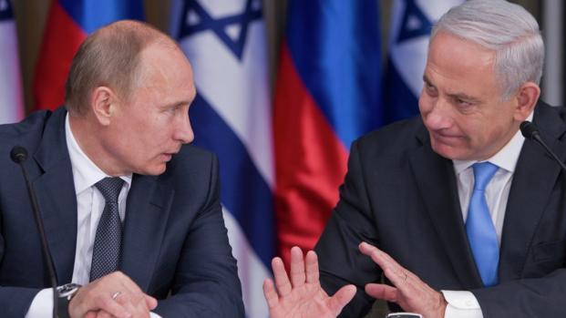 Contatto tra Putin e Netanyahu per discutere dei raid israeliani in Siria