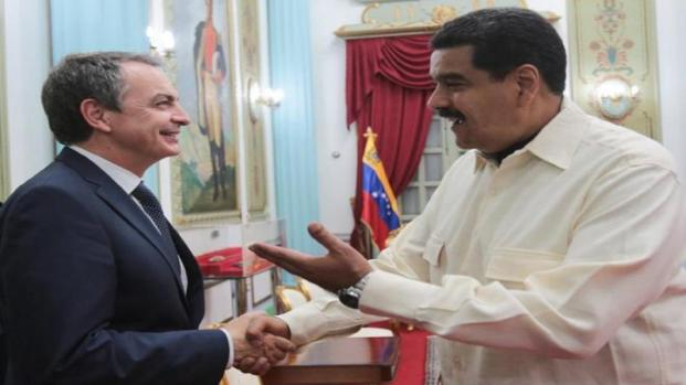 Video: José Luis Rodríguez Zapatero se alía con el gobierno de Maduro