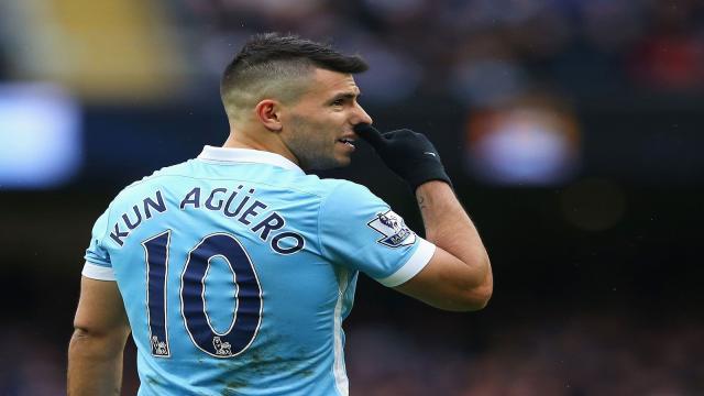 Sergio Agüero anota cuatro goles vs Leicester City