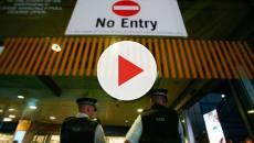 VIDEO:  Descubren una bomba de la II Guerra Mundial en el aeropuerto de Londres