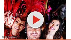 Assista: Marcos Harter beija muito no carnaval e negocia novo reality