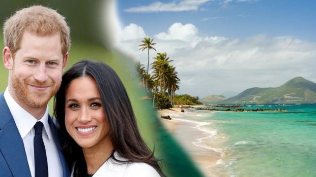 VIDEO: La luna de miel de Harry y Meghan podría ser en esta isla caribeña