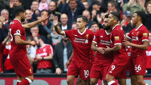 Liverpool vence a Southampton con gran actuación del egipcio Salah