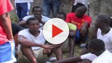 Trevenzuolo: migranti protestano per vedere le partite