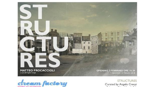 Matteo Procaccioli in mostra a Milano presenta 'Structures'