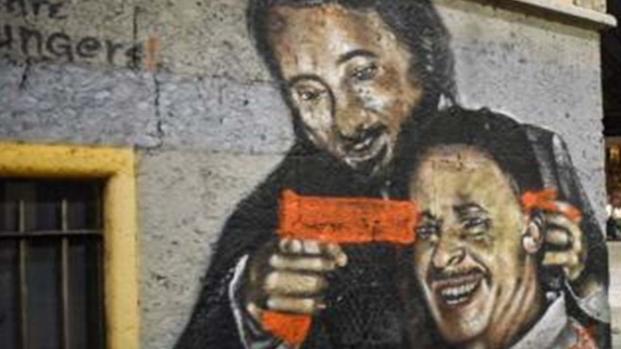 Milano: vandalizzato il murales di Falcone e Borsellino