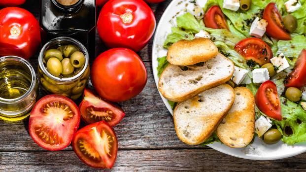 Vida saludable con una dieta equilibrada