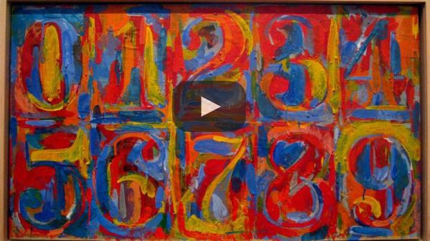 Jasper Jhons se niega a dar explicaciones sobre su arte