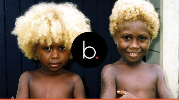 A la découverte des Salomoniens : unique peuple noir aux cheveux blonds
