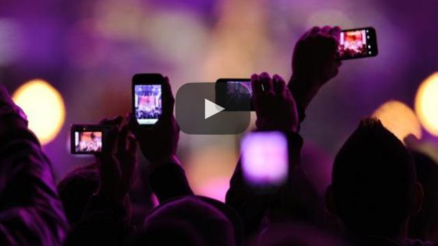 Lugares libres de teléfonos inteligentes, eventos en vivo tranquilos