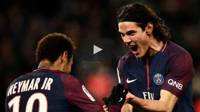 Cavani quiere anotar un gol de tijera en la final de la Champions League