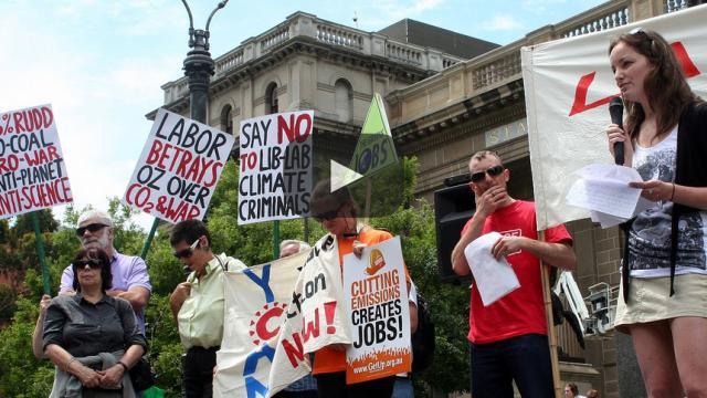 Lugares abiertos en riesgo de desaparecer, dice informe de Climate Coalition.