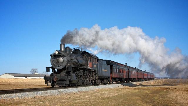 Diesel se está muriendo, deje que los trenes de vapor vayan al rescate