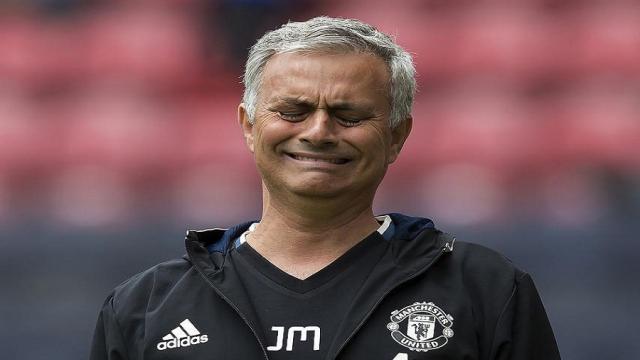 El desafortunado Manchester United de José Mourinho está trabajando