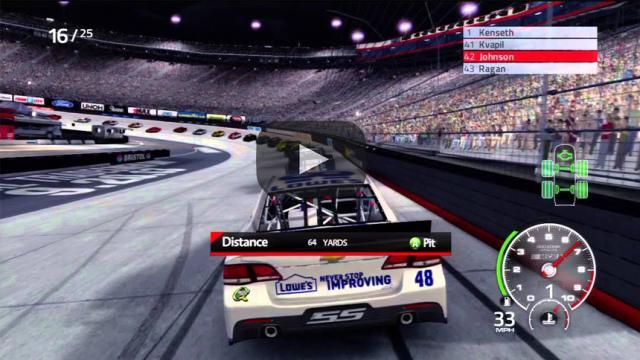 NASCAR anunció su nuevo juego de realidad virtual