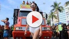 Vídeo: confira as famosas que cobriram os seios apenas com adesivos