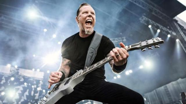 Legendario vocalista James Hetfield, ahora como actor dramatico