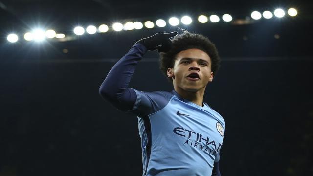 Leroy Sané del Manchester City regresa antes de lo previsto