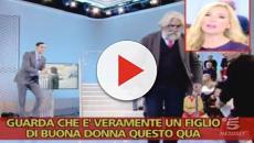 VIDEO: La Panicucci insulta il collega di Mattino 5: Striscia mostra il filmato